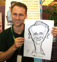 Liverpool Caricature Wedding Artists Corporate
